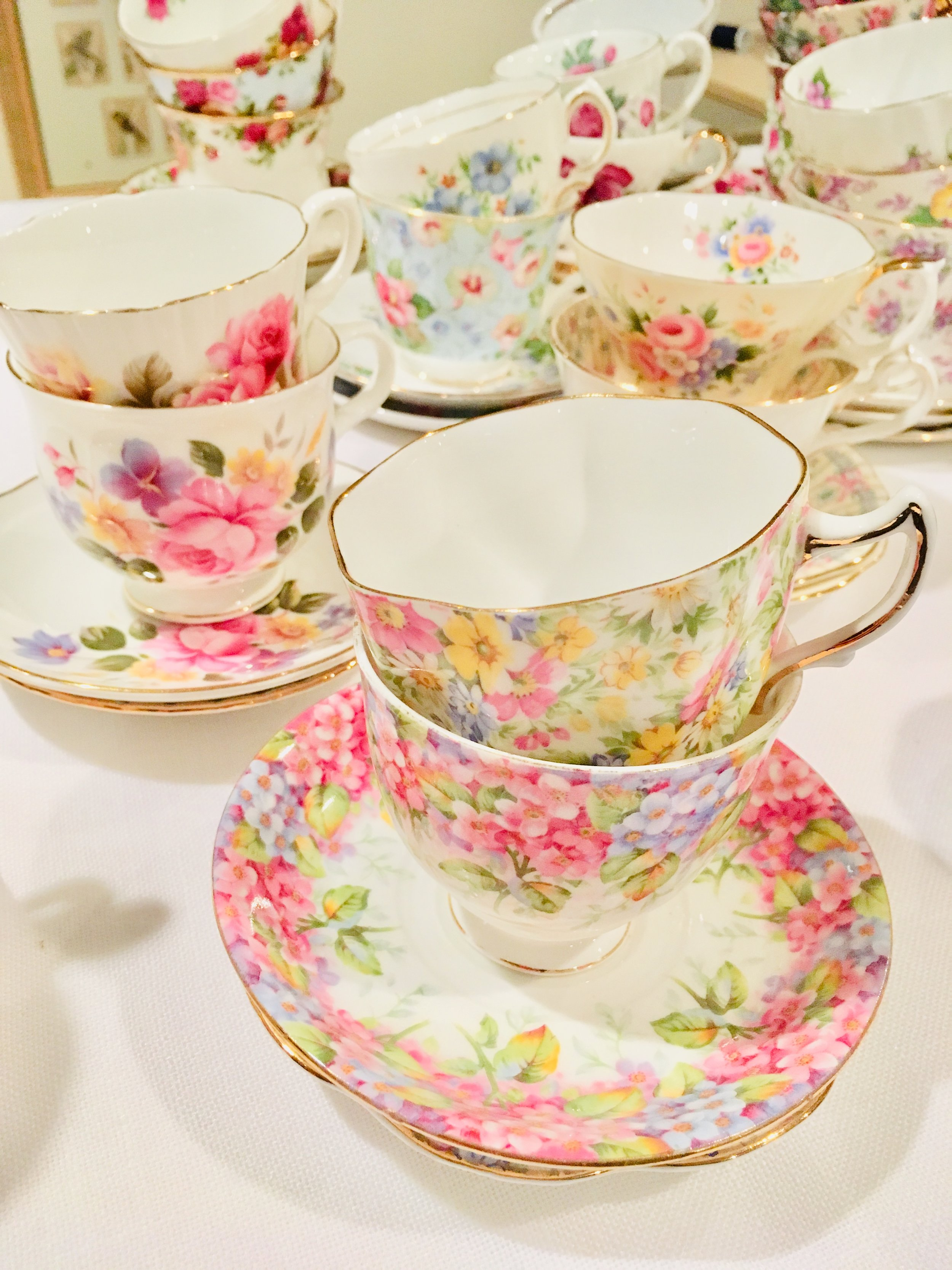 Tea parties are perfect for bridal showers, baby showers, book groups, reunions, or any time you want to celebrate a milestone such as a retirement or special birthday.