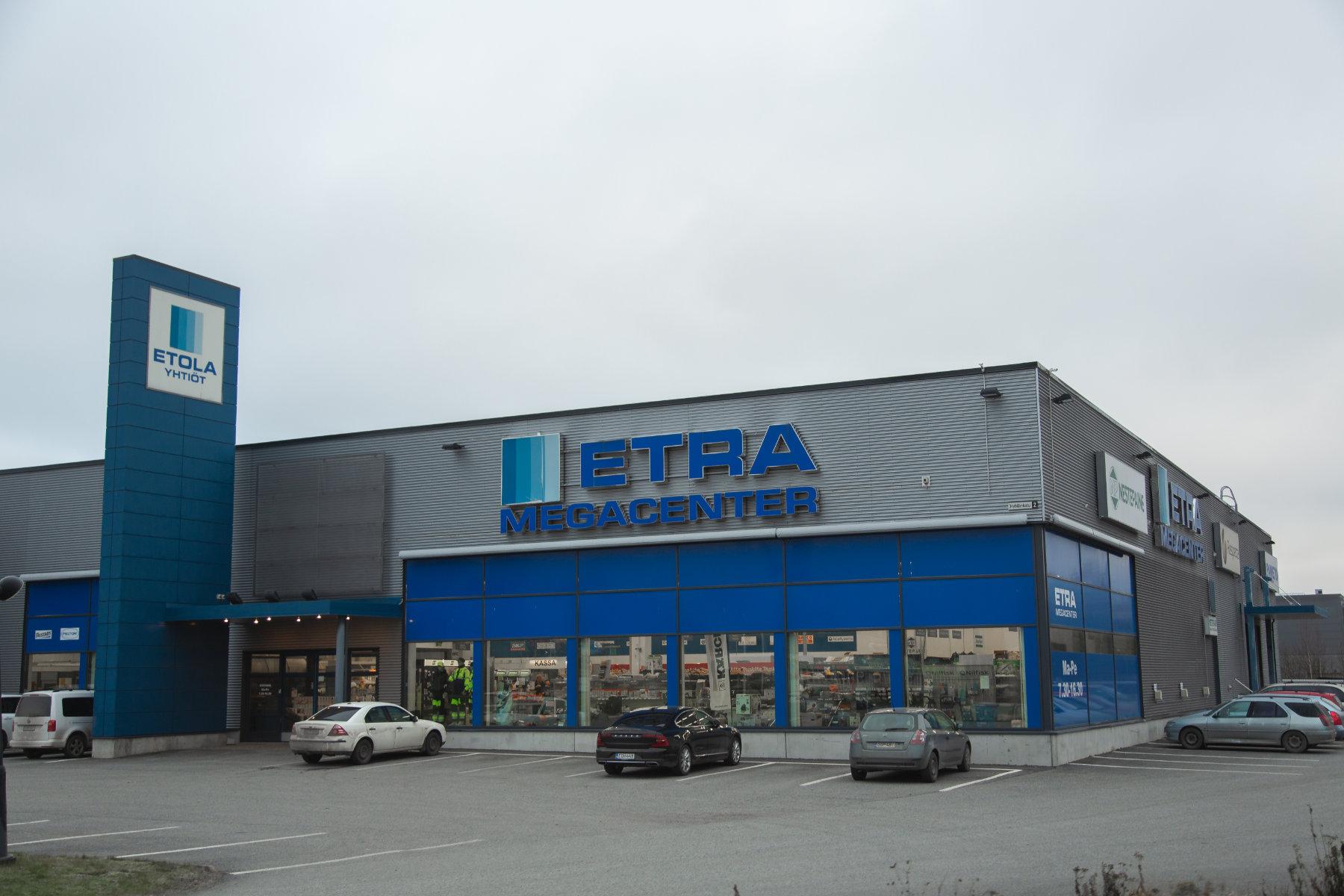 ETRA Megacenter Tampere, Tampere