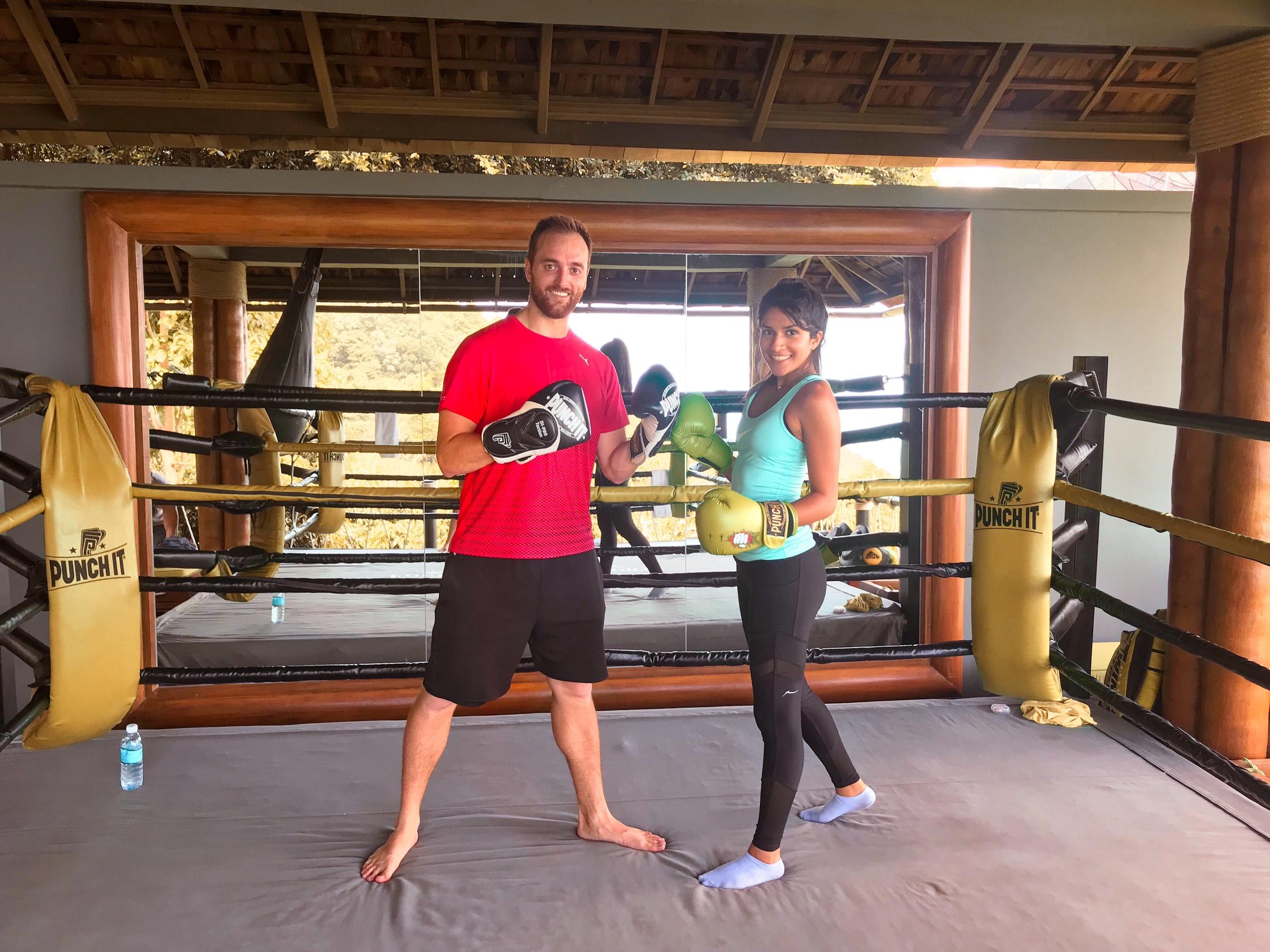 Muay Thai Boxing Ring at Four Seasons Koh Samui, Thailand