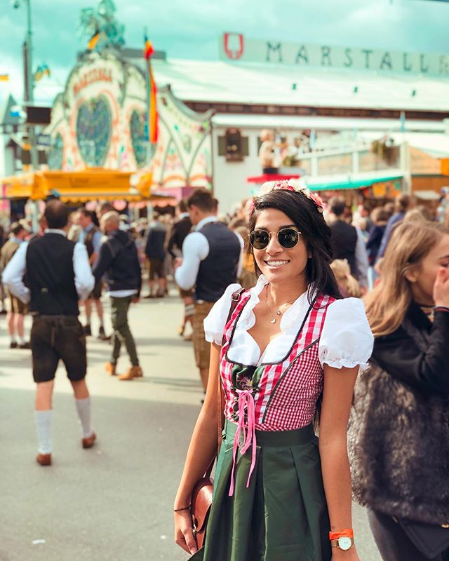 10/10 would recommend the original Oktoberfest in München, Germany.🙌🏼