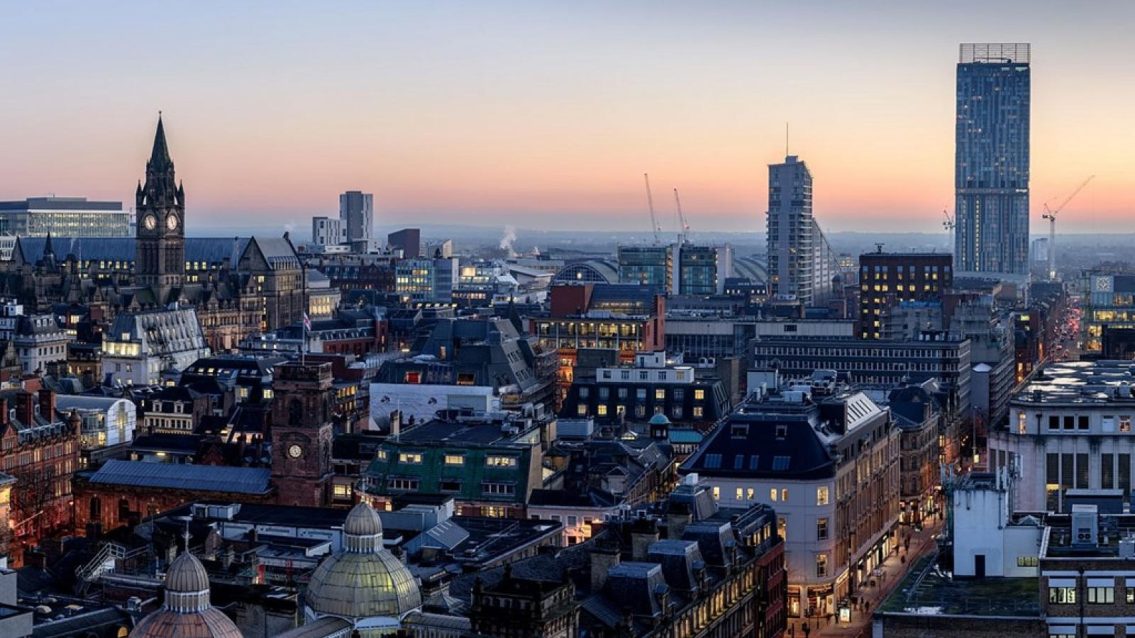 Manchester ranked #1 for jobs and population growth, closely followed by Birmingham, Leeds and Liverpool