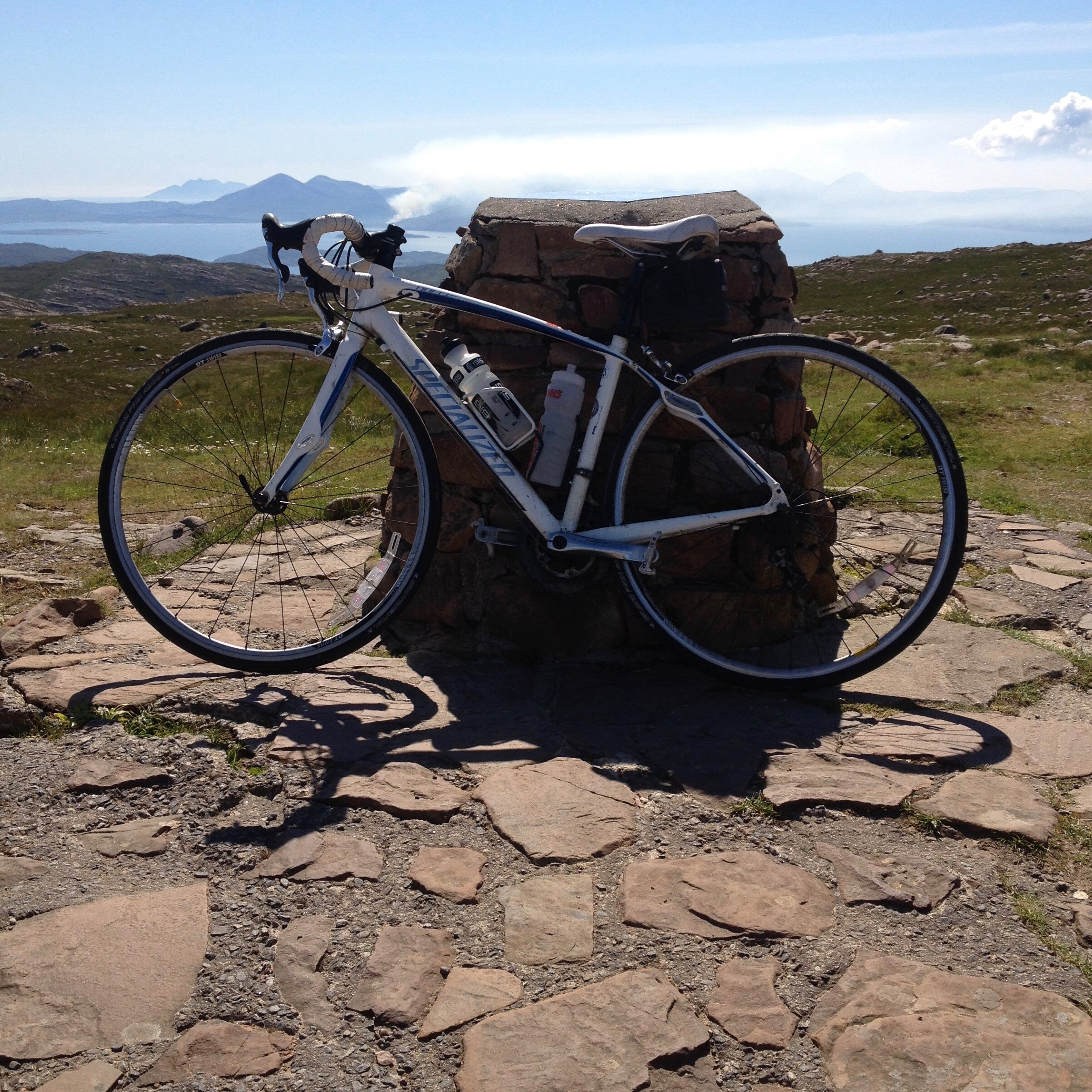 Ever since I saw it in '100 Greatest Cycling Climbs' by Simon Warren I wanted to get to the top of Bealach na Bà; I was very chuffed when I finally made it!