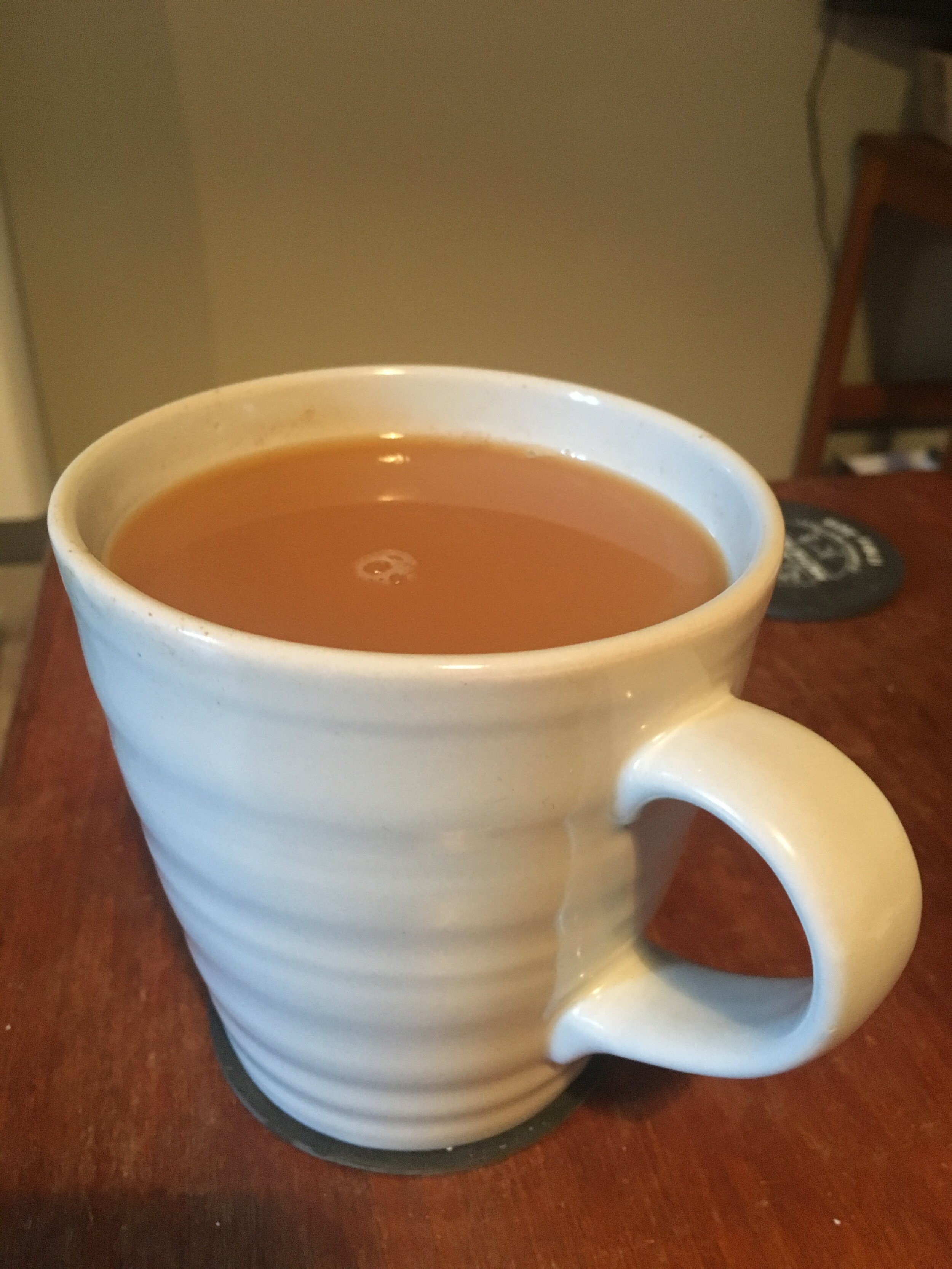 I love a good brew after being out running the cold!