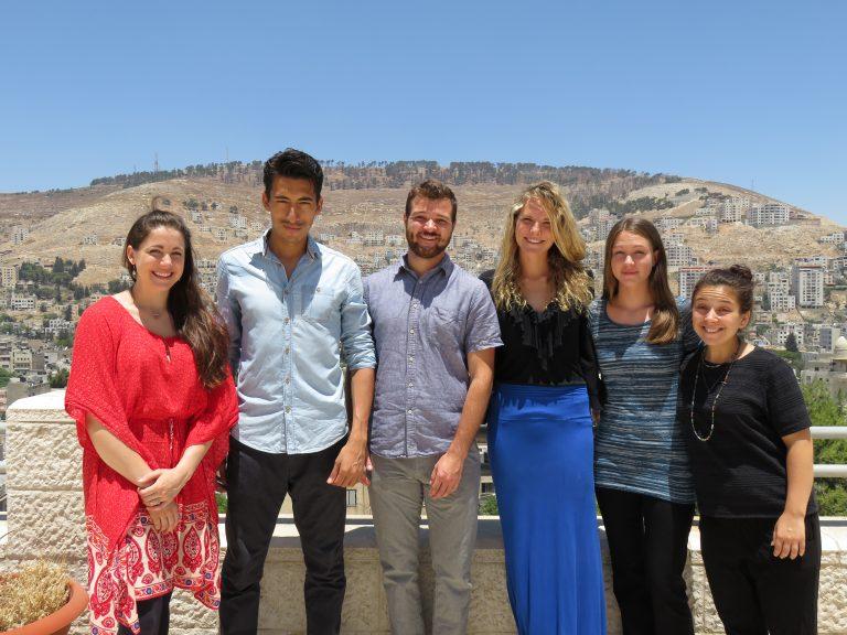 Summer 2016 EFL Fellows Emma, Leandro, Darren, Amy, Katrina, and Kyra.