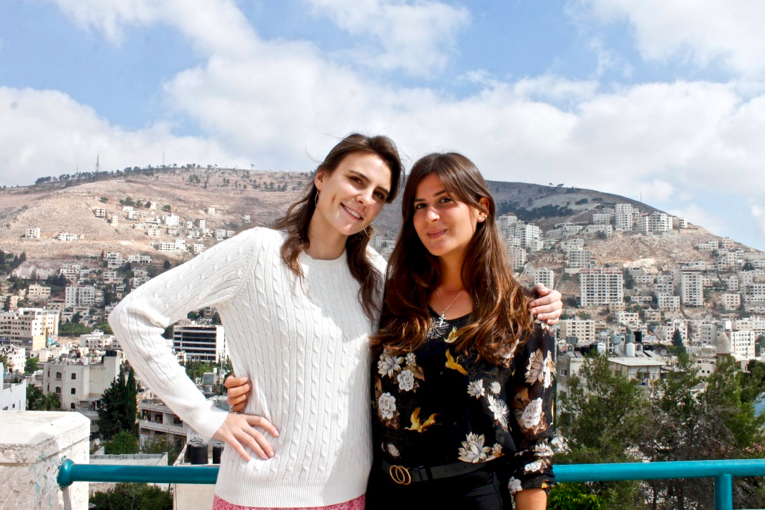 Chambri (left) and Laura (right)