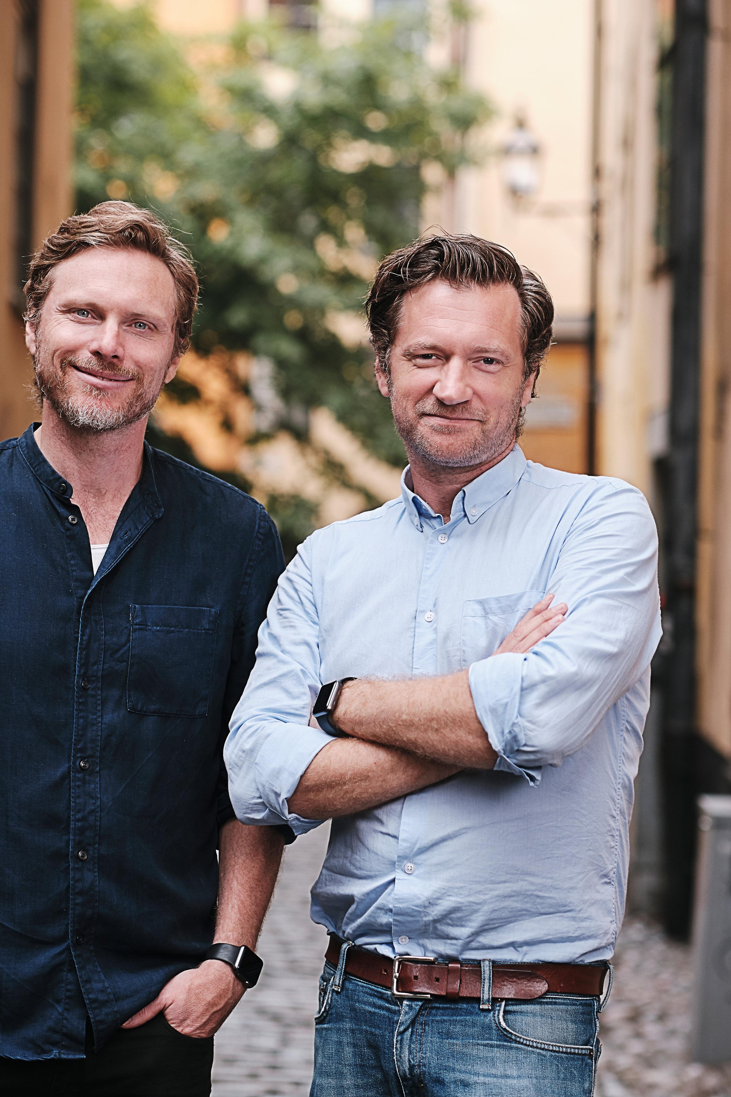 Jonas Lindqvist och John Guthed, Allies grundare.