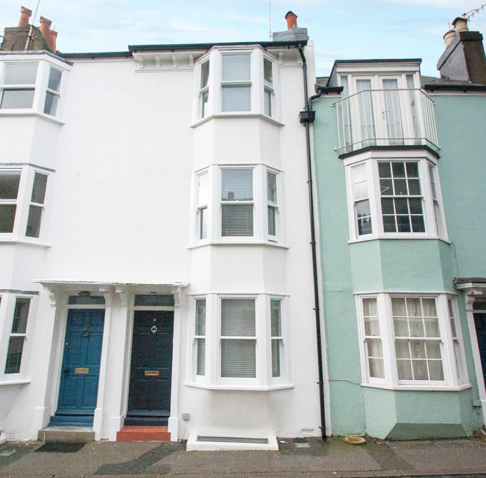 three storey mid terrace victorian property