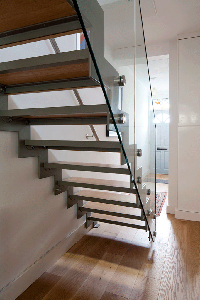 after: stair towards front door