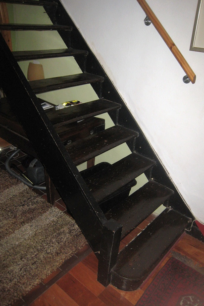 before: stair tread and stringer detail