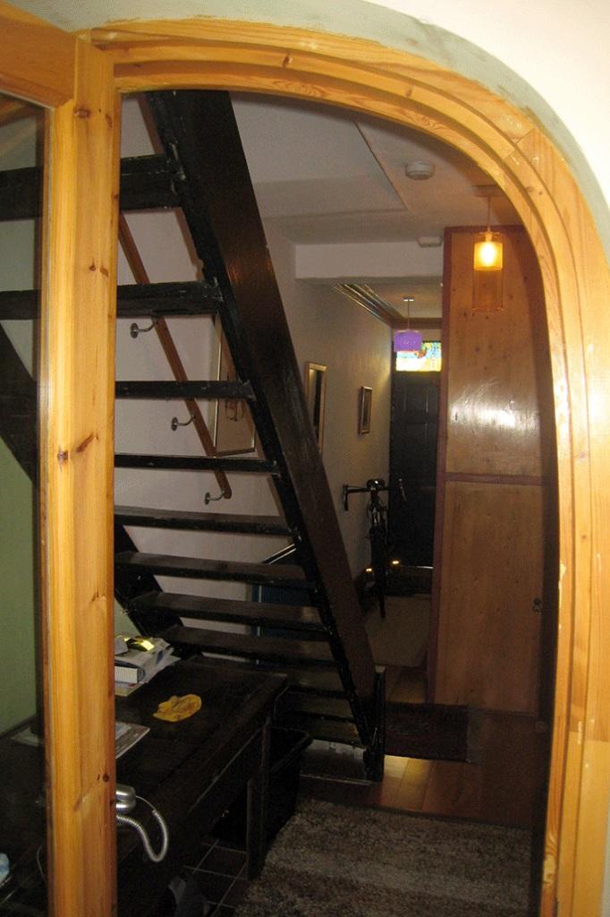 before: stair towards front door