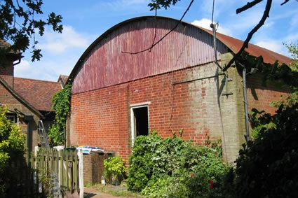 converting a cow shed -