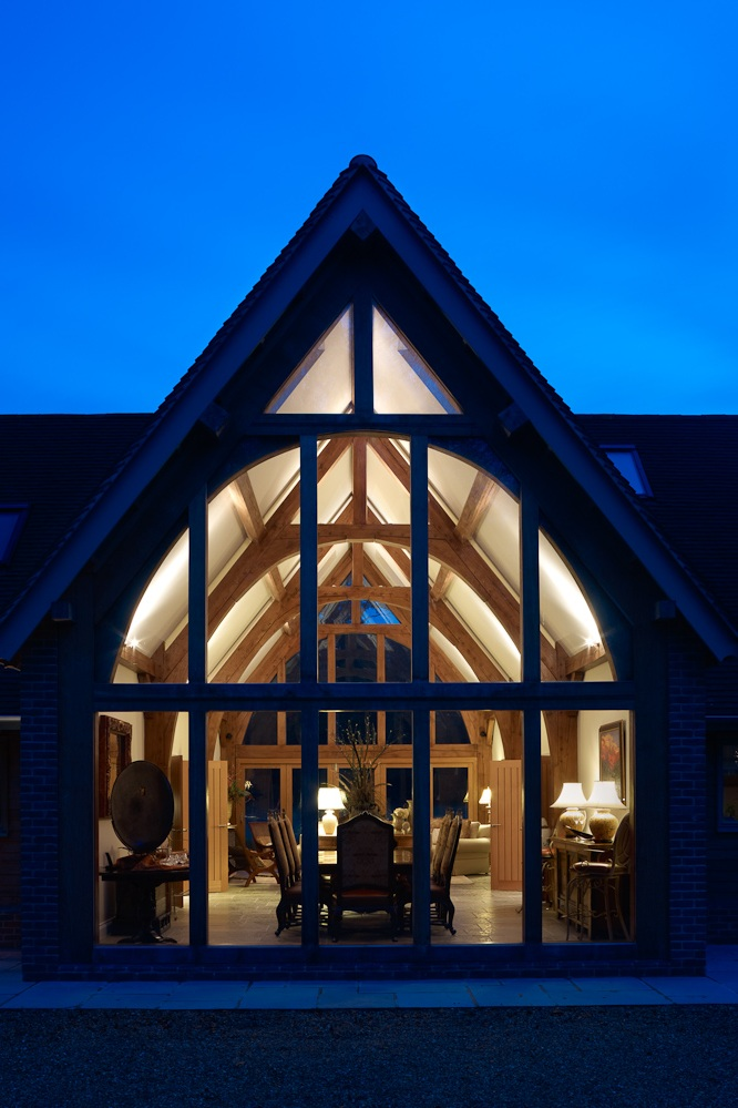 crafting a timber frame home -