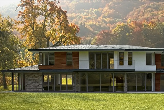 woodland family home -