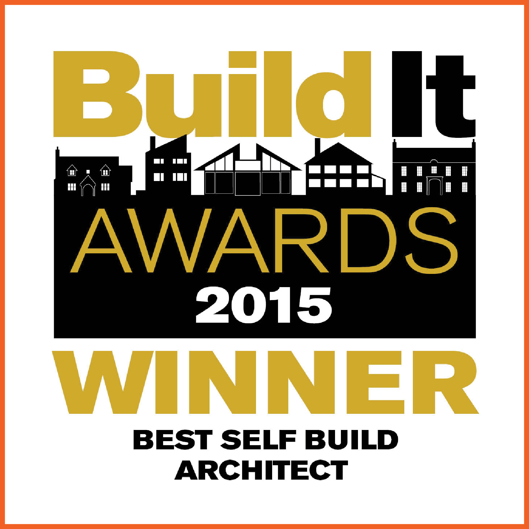 build it awards winner logo