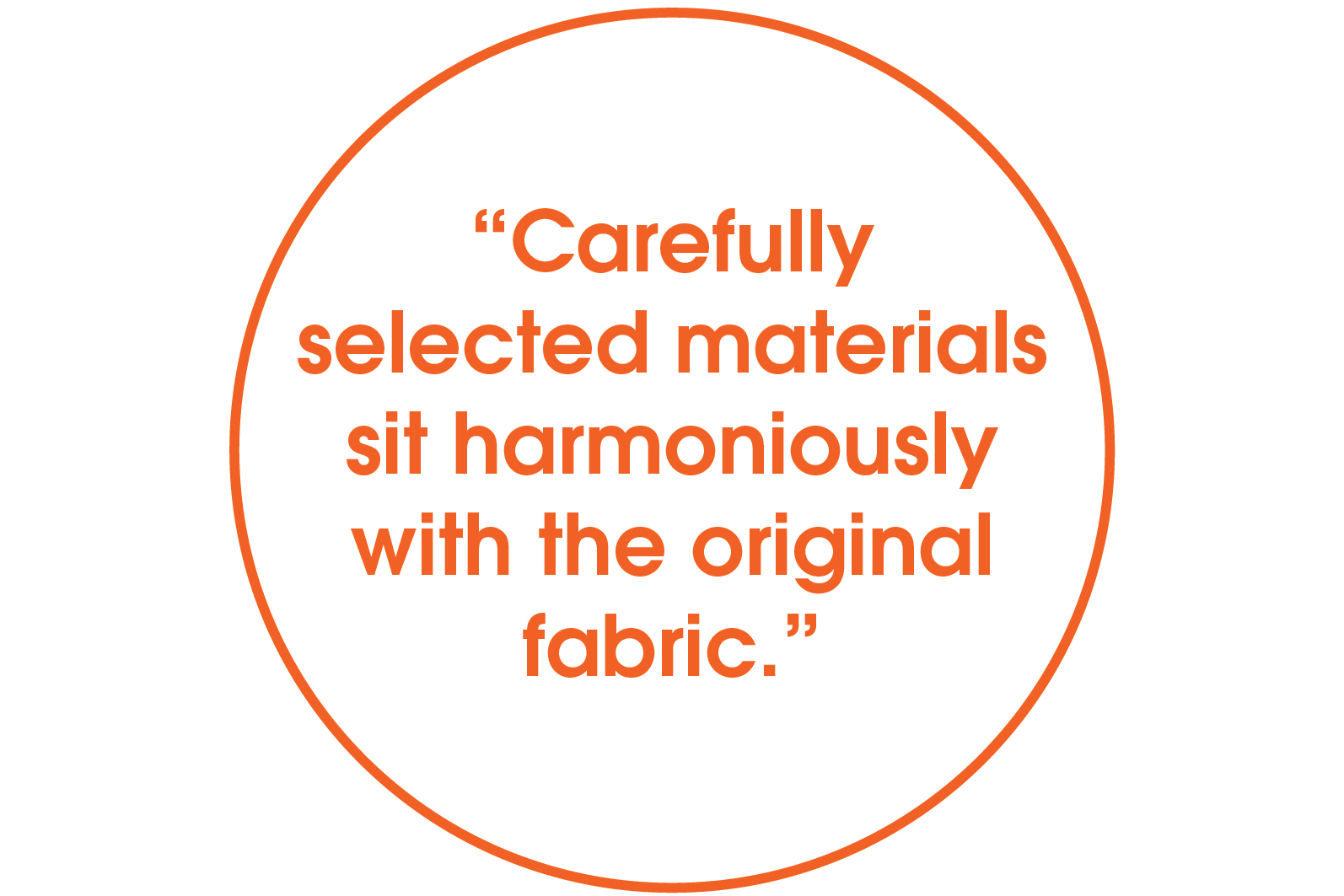 carefully selected materials quote