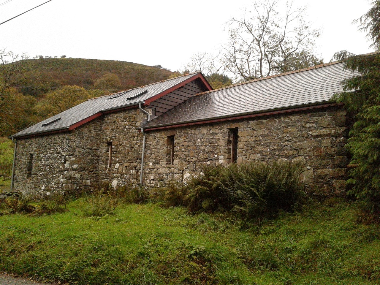 restoring a 120 year old stone barn