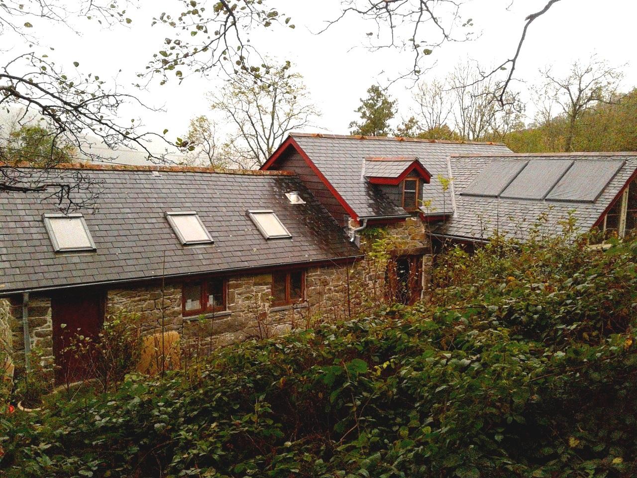 restored 120 year old stone barn