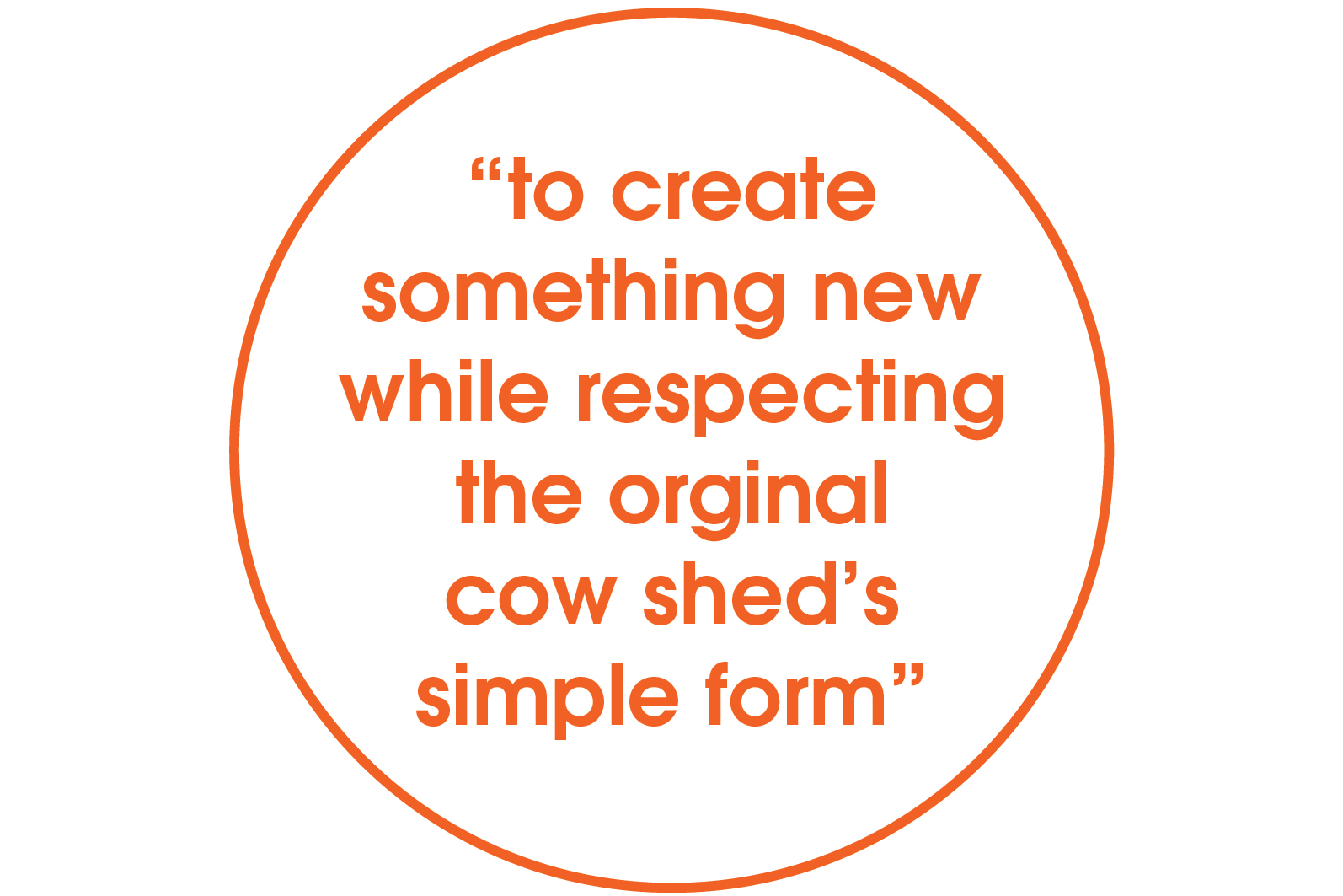 create something new while respecting original form quote