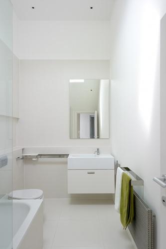 slick contemporary modern bathroom