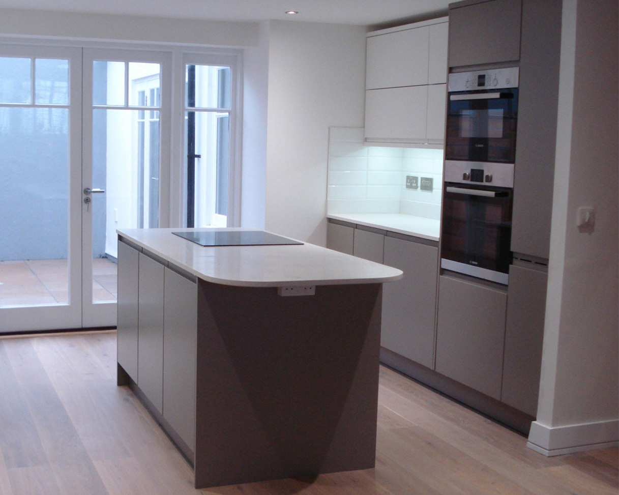 stephen's house development contemporary kitchen