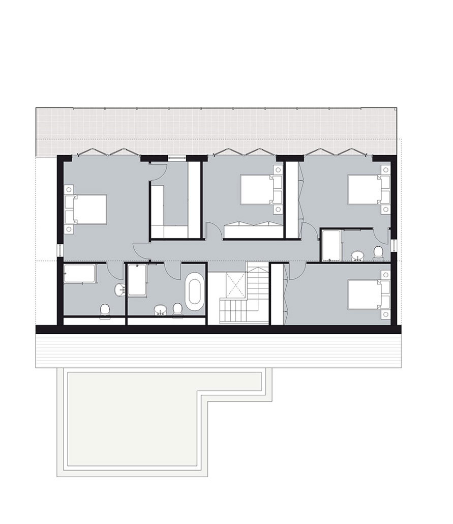 home one: first floor plan