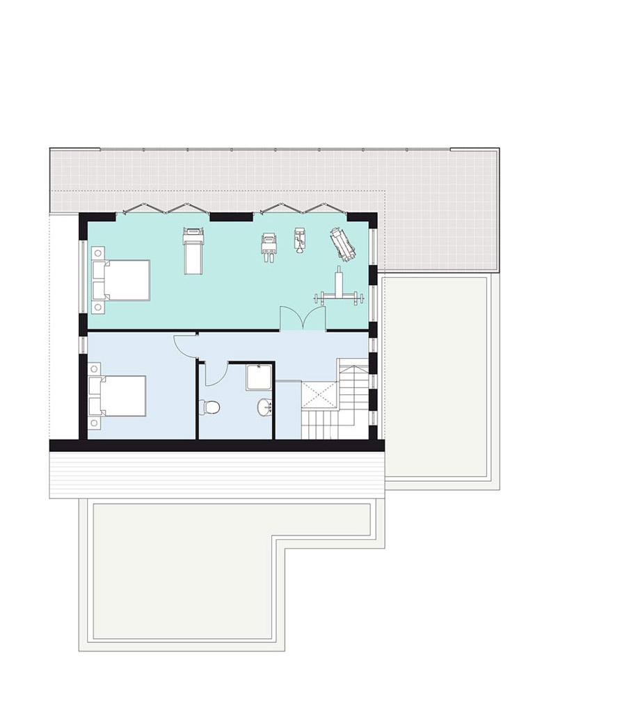 home two: first floor plan