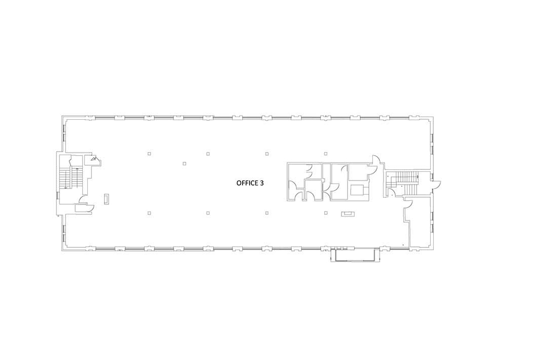 existing first floor plan