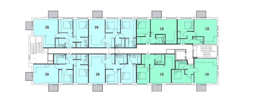 proposed second floor plan