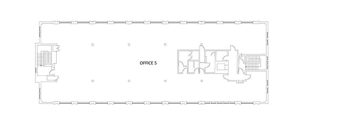 existing second floor plan