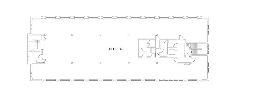 existing third floor plan