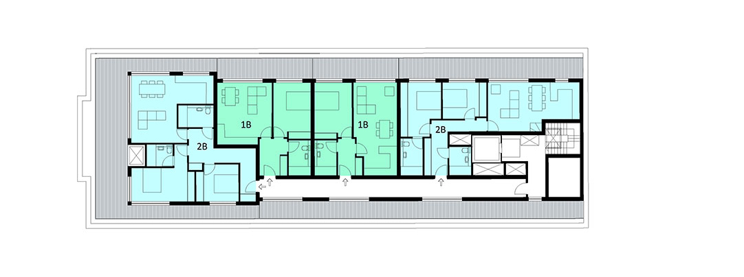 proposed fourth floor plan