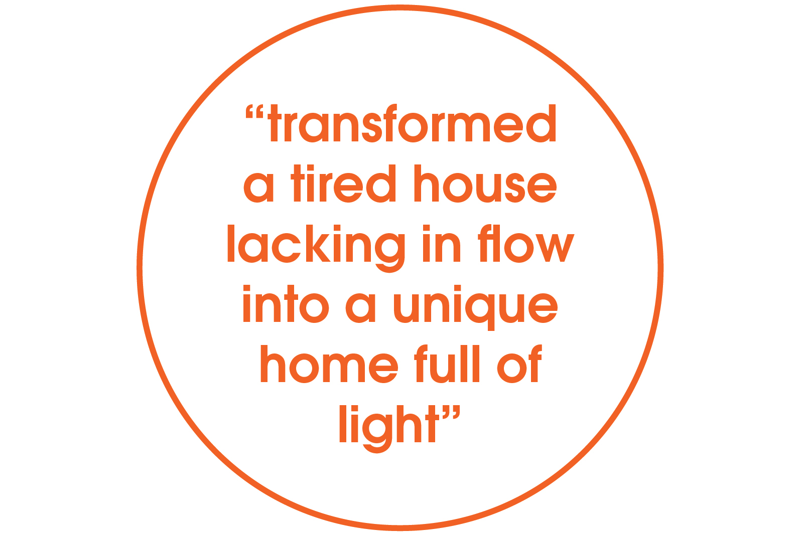 transforming tired house quote