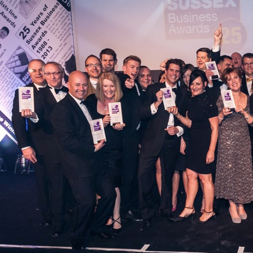 sussex small business of the year 2013 group photo