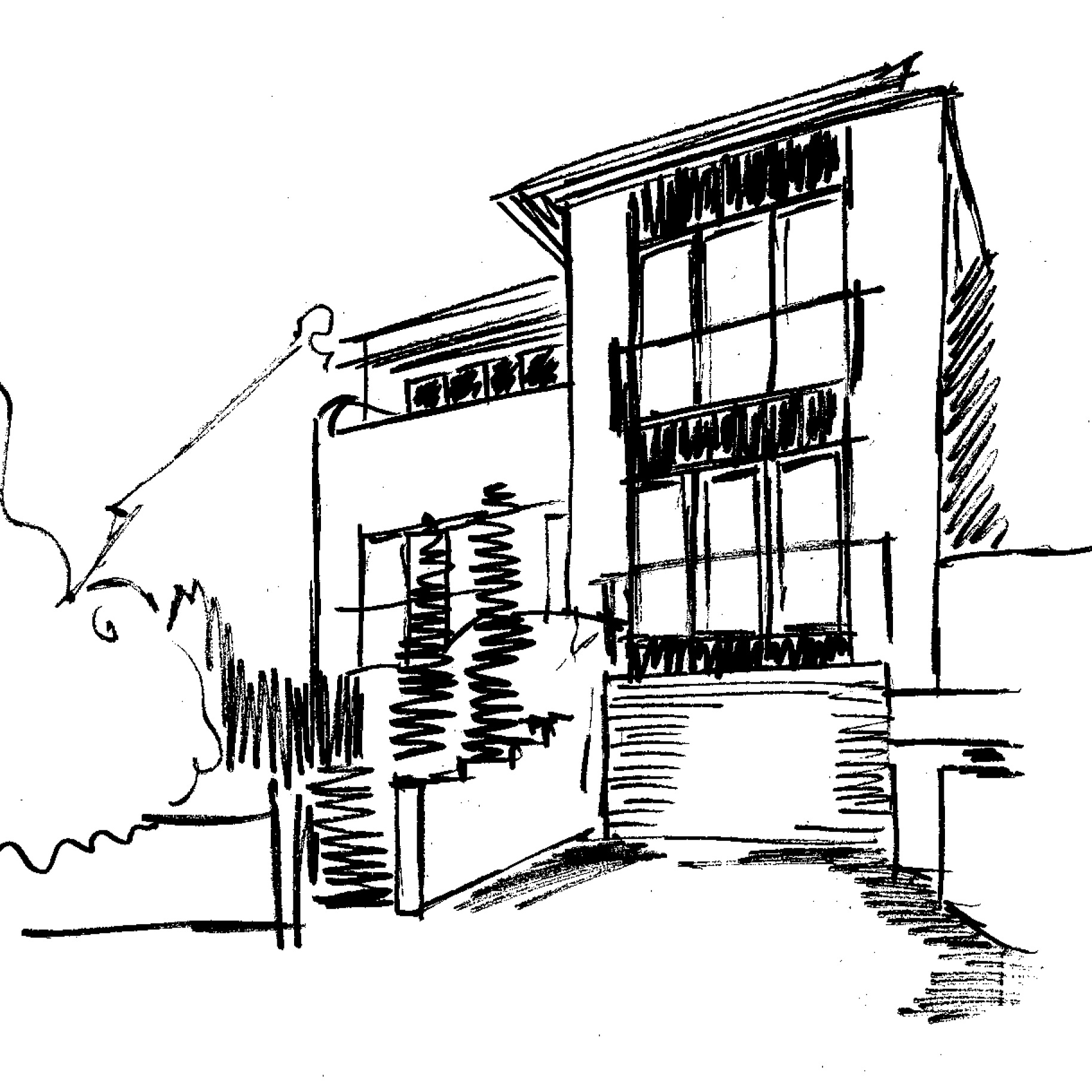 dispelling myths about architects feature image transforming a bungalow sketch