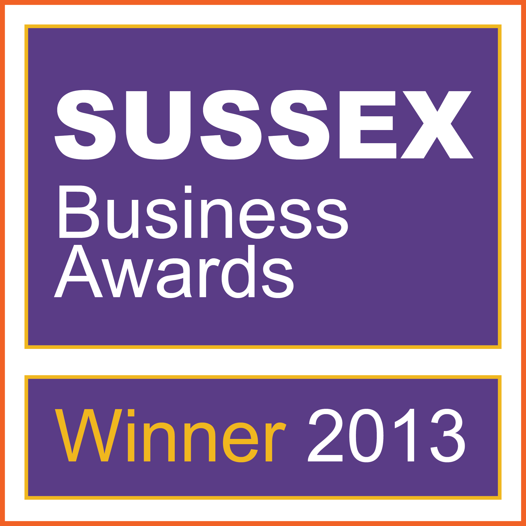 sussex business awards winner logo