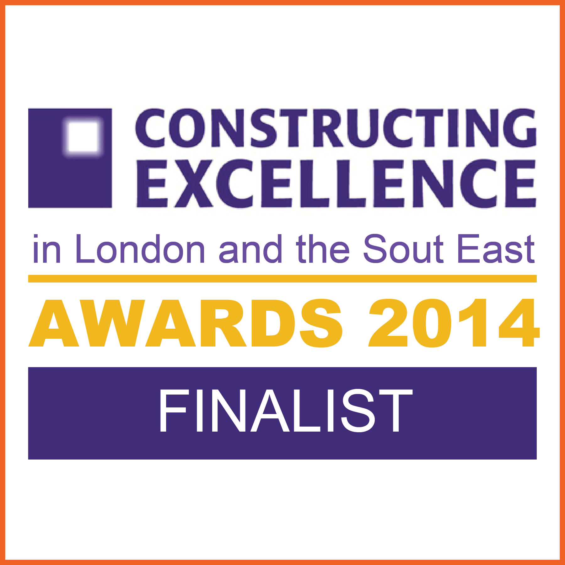 constructing excellence finalist logo