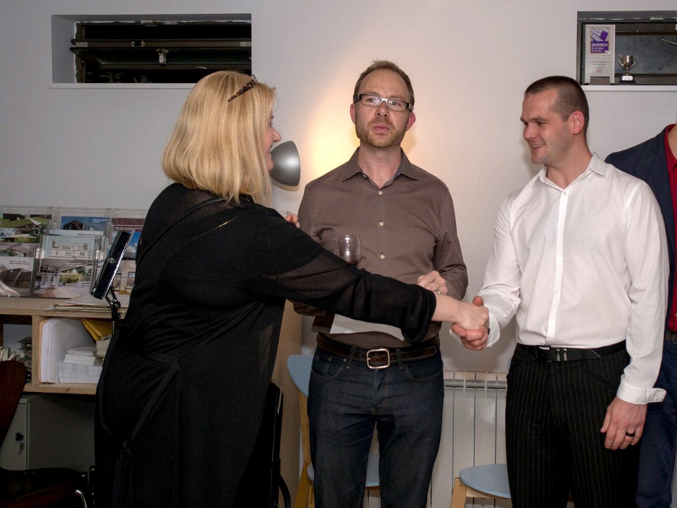 archangels celebrates five years pete is promoted to associate