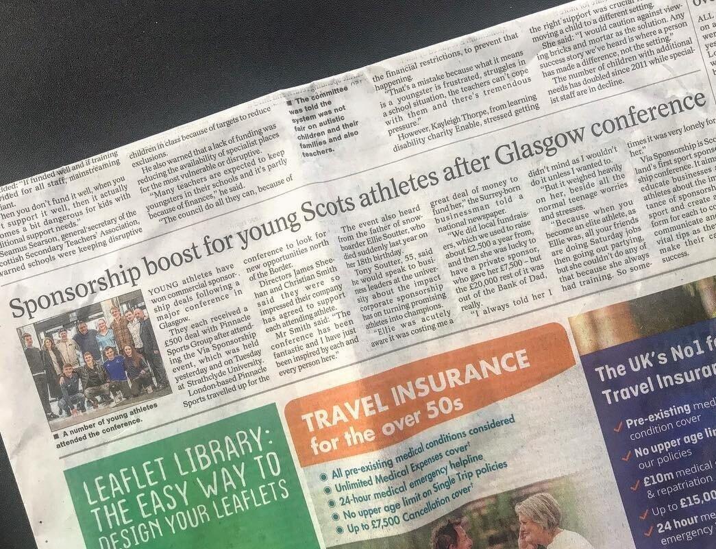 Press on sponsorship boost for athletes awarded at Via Sponsorship.