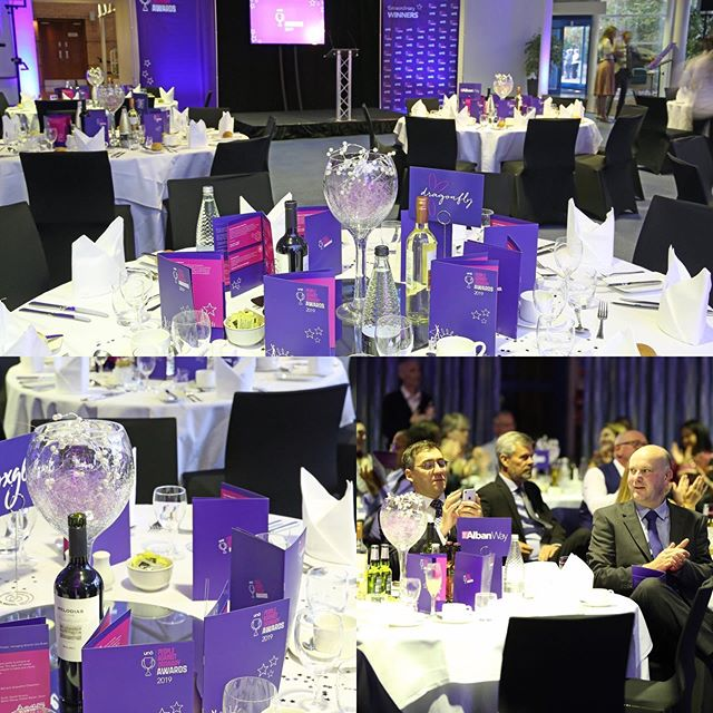 We were lucky enough to help transform the Fielder Centre in Hatfield ready for the People Against Ordinary Awards.  We hope you all had an awesome evening! #uno #UnoBus  Check out our website: www.WeDoWeddingEventSupplies.co.uk .  #eventplanning #eventideas #suppliers #decorations #specialevents #corporateevents  #colours #hertfordshireevents #ceremony #Chaircovers #Corporate #awards