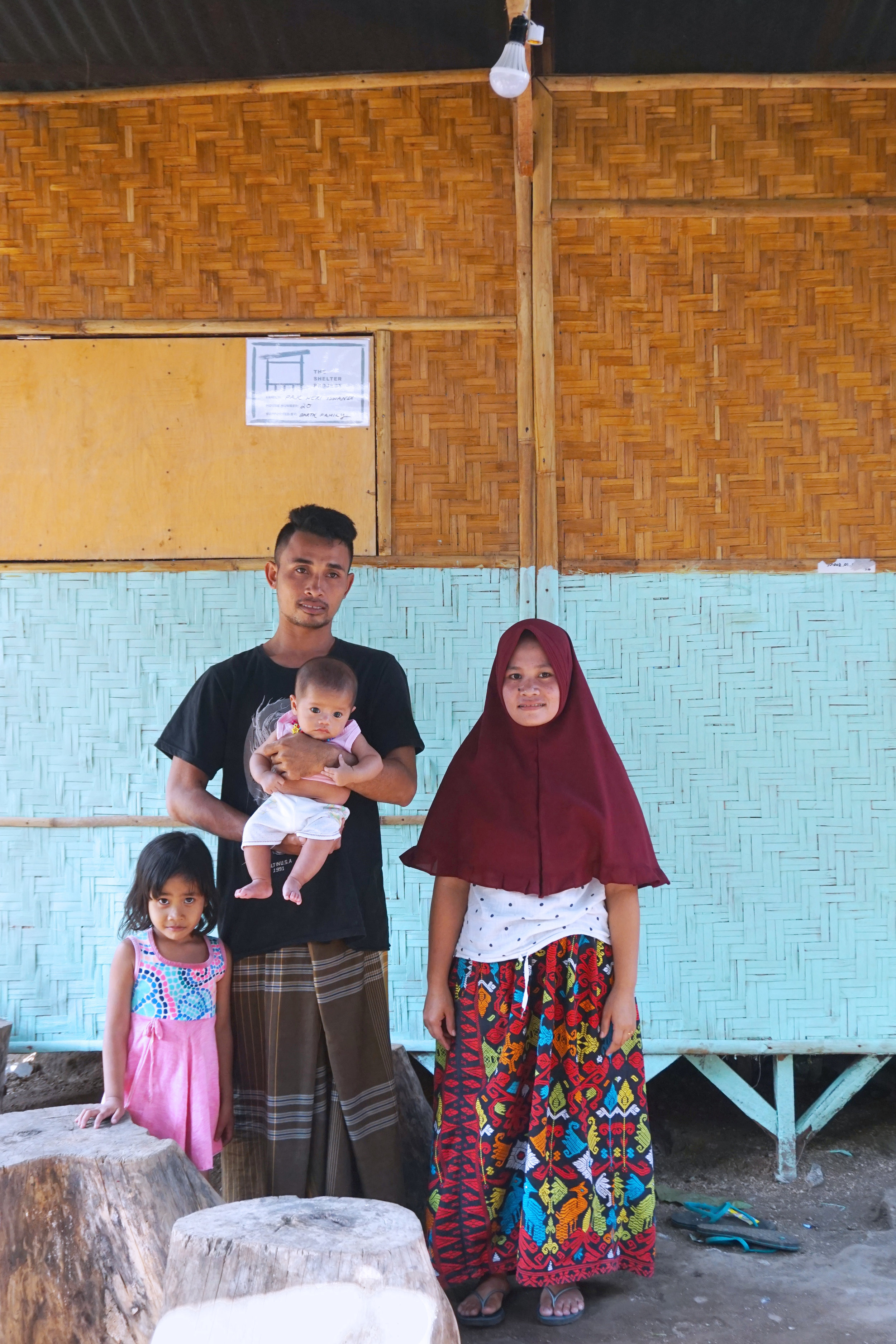 House.20 - Pak Heri Iswandi & FamilyNumber of residents: 2Location: Tandjung, Lombok