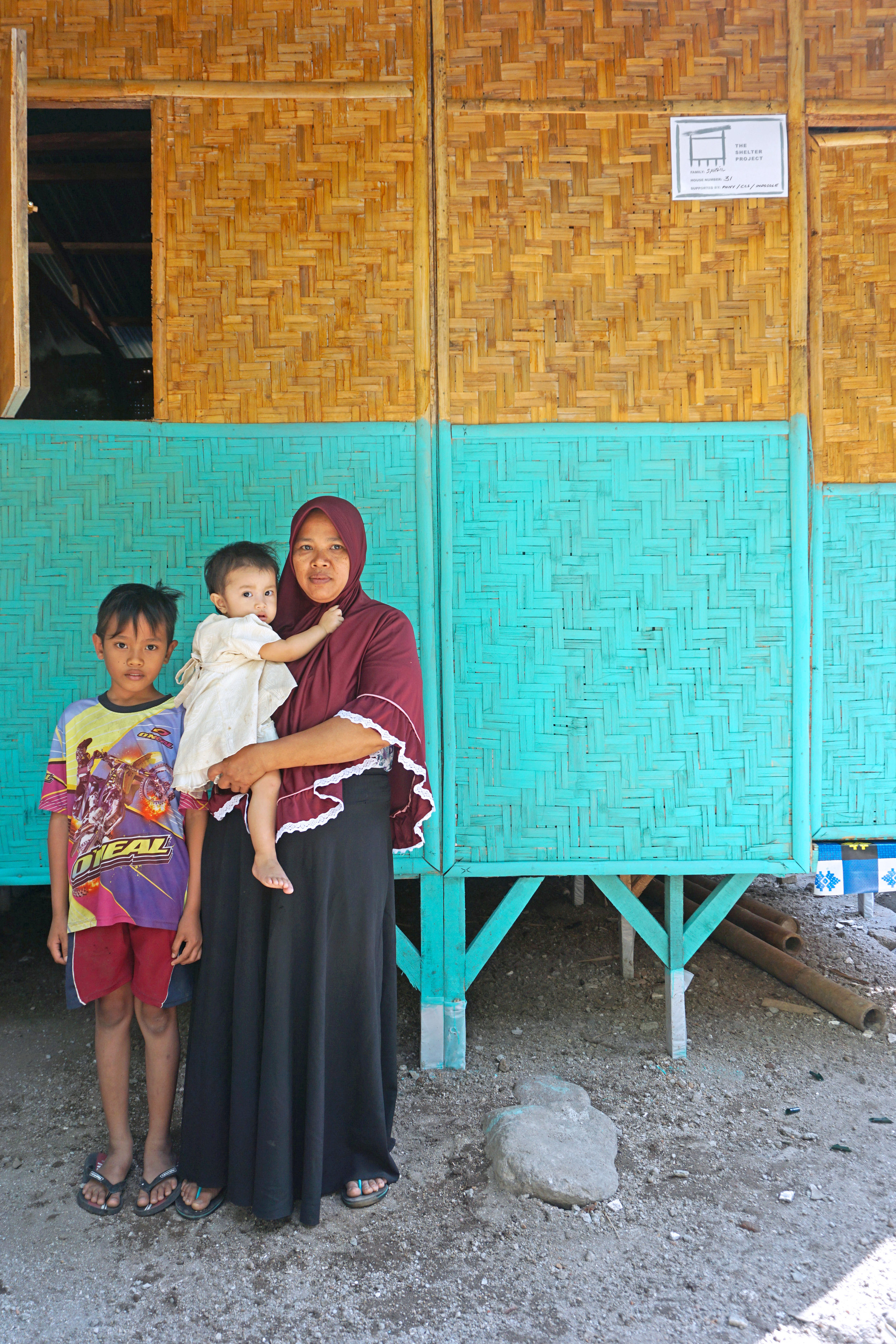House.30 - Pak Sahril & FamilyNumber of residents 4Location: Tandjung, Lombok