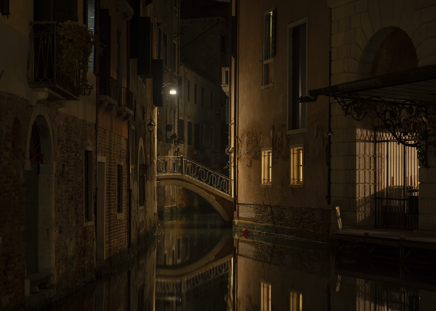 Venice By Night…