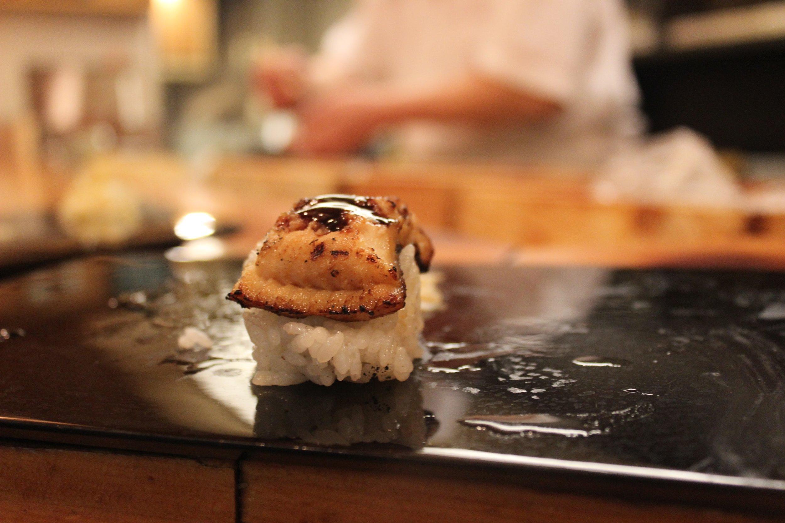 Unagi Sushi from Yajima in Shibuya, Tokyo