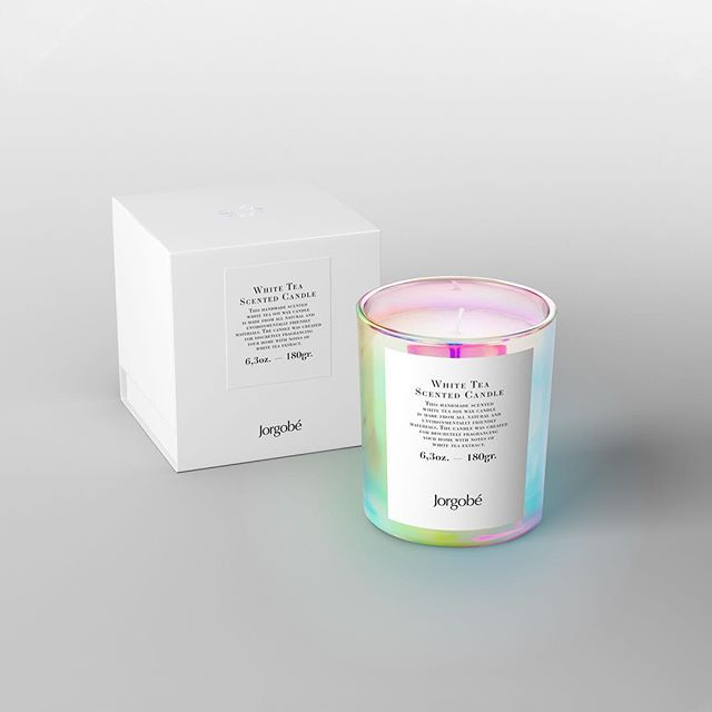 Luxury items deserve luxury packaging! We loved working with @jorgobe on the packaging for their new scented candle. Designed by @homework.dk 🙌 🕯⁣⠀ ⁣⠀ #luxurypackaging #packaging #holographic #scandidesign #emboss #rebelmade #packrebels