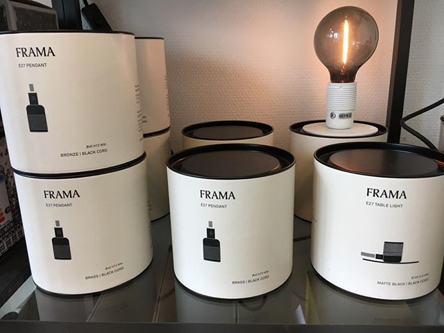 New design for Frama. Made by @PackRebels #coolpackaging #frama #specialmade