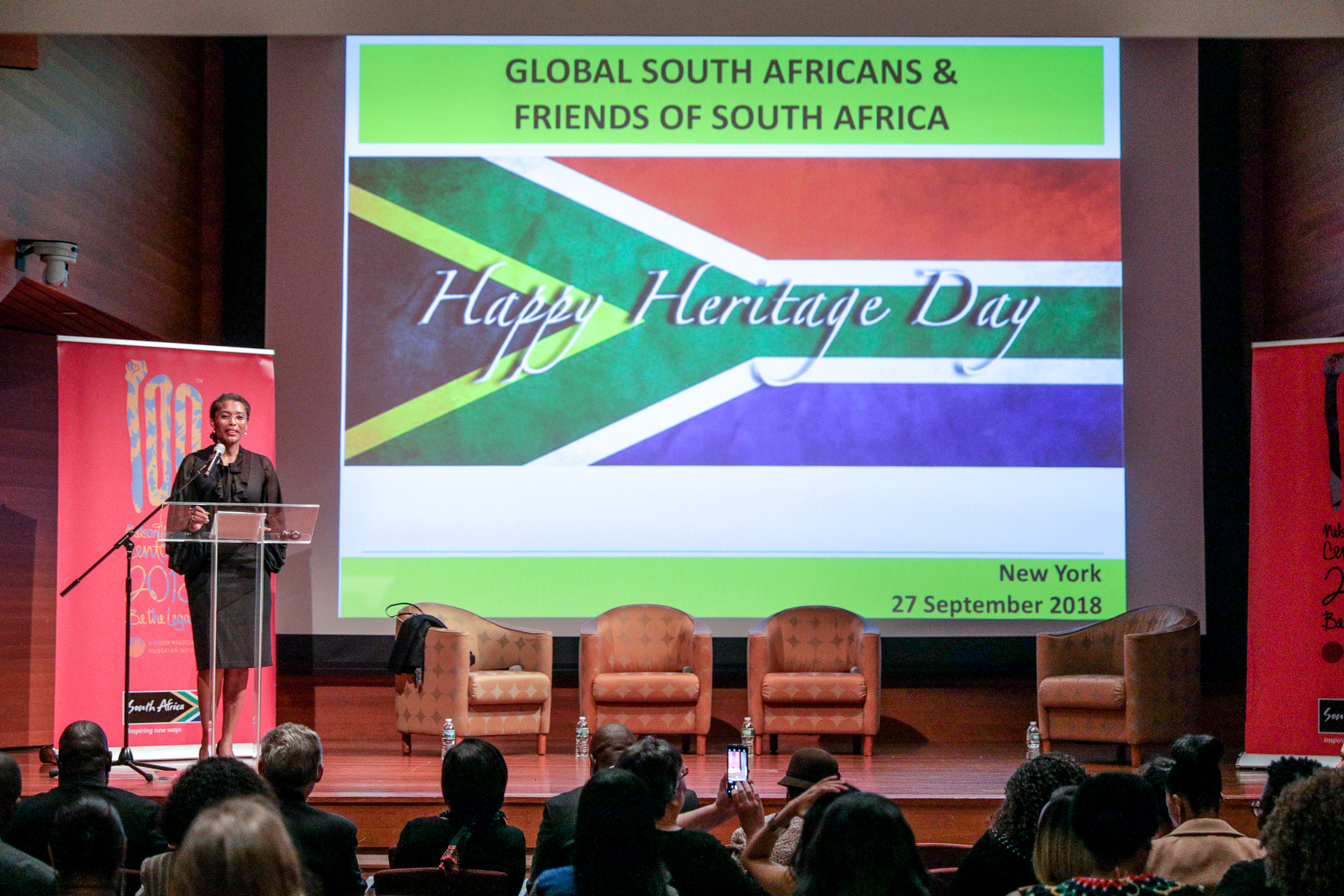 CEO of Brand South Africa, Ms. Thembi Kunene-Msimang
