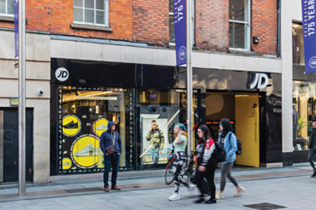 JD Sports - 43-44 Mary Street, Dublin 1 / To Let