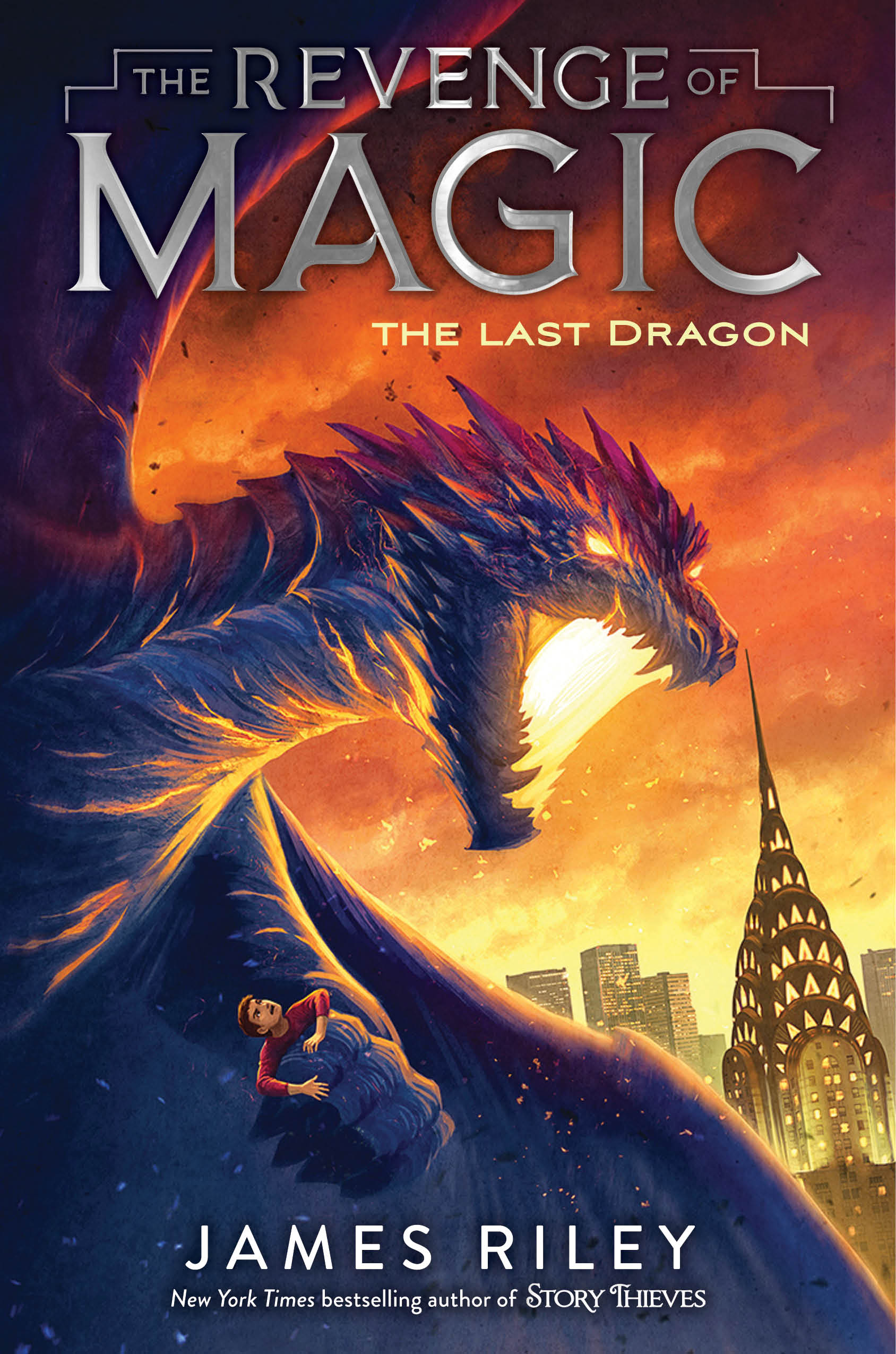 THE LAST DRAGON (BOOK 2) - Fort Fitzgerald can't stop having nightmares about the day his father was taken from him in an attack on Washington, D.C. In these dreams, an Old One, an evil beyond comprehension, demands the location of the last dragon. But other than some dragon skeletons dug up with the books of magic on Discovery Day, Fort has never seen a dragon before. Could there still be one left alive?And weirdly, Fort's not the only one at the Oppenheimer School having these nightmares. His new roommate, Gabriel, seems to know more than he's letting on about this dragon as well. And why does everyone at the school seem to do whatever Gabriel says? What's his secret?Fort's going to need the help of his friends Cyrus, Jia and Rachel, if he's going to have any chance of keeping the Old Ones from returning to Earth. Unless, the Old Ones offer something Fort could never turn down ....BUY: AMAZON | BARNES & NOBLE | INDEPENDENT STORES