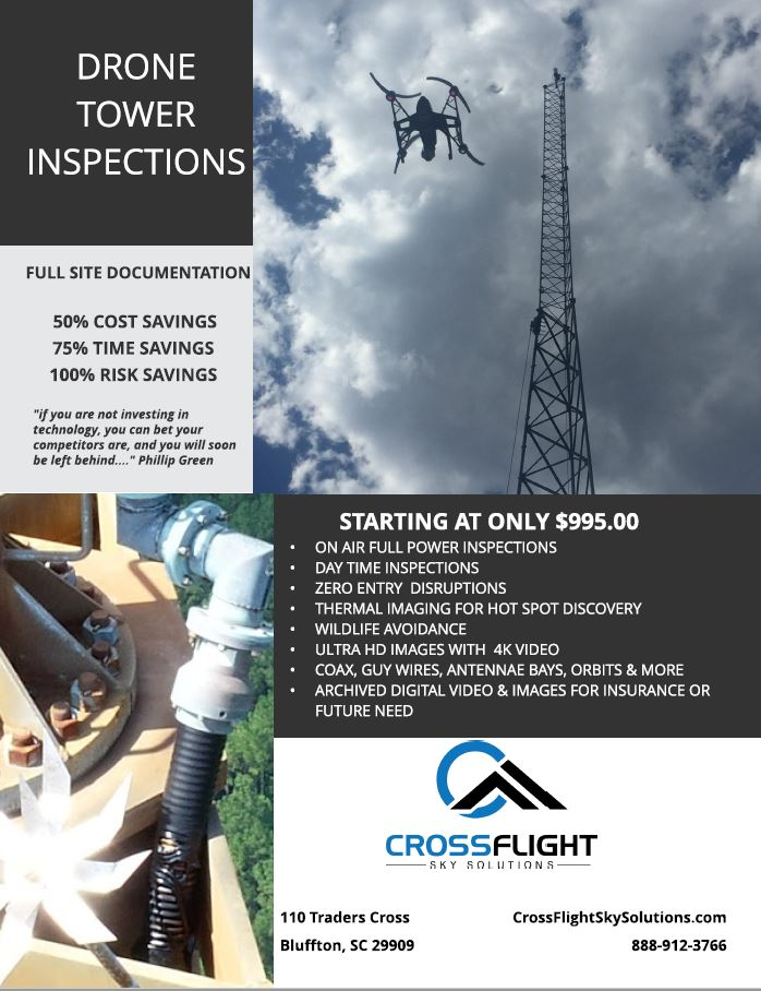 Tower Inspections - Aerial Images and documentation for Towers and InfrastructureLEARN MORE