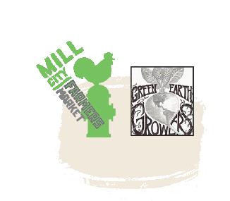mill city farmers market green earth growers logos